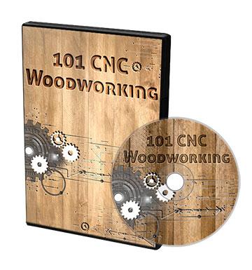 101 CNC Woodworking coperta DVD